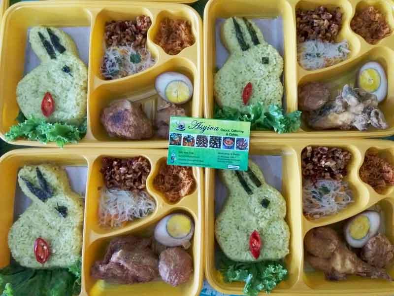 Nasi Bento Kelinci 1