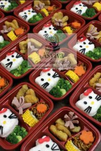 Nasi Bento Murah 10 Ribuan Kura Kura Kelinci Hello